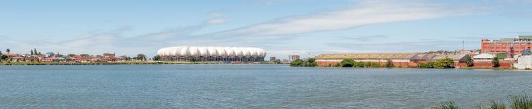 Panorama of the Nelson Mandela Bay Stadium Royalty Free Stock Photo