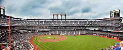 Panorama of the new Citifield Royalty Free Stock Image