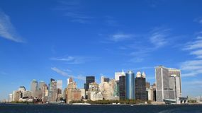 Panorama of New York Stock Photo