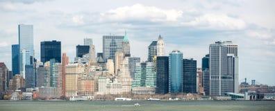 Panorama New York City Stock Photo