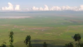 Panorama of Ngorongoro Conservation Area