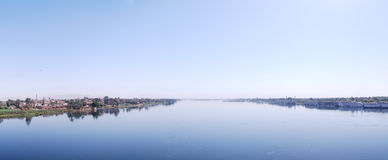 Panorama of the nile Stock Photography