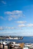 Panorama of Nizhny Novgorod Stock Images