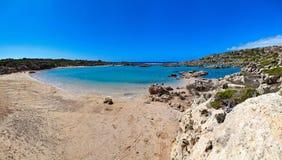 Panorama Di Aspri Limni In Creta Fotografia Stock - Immagine di ...