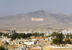 Panorama nordico di Nicosia Fotografia Stock Libera da Diritti