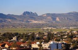 Panorama nordique de Nicosia Photographie stock libre de droits