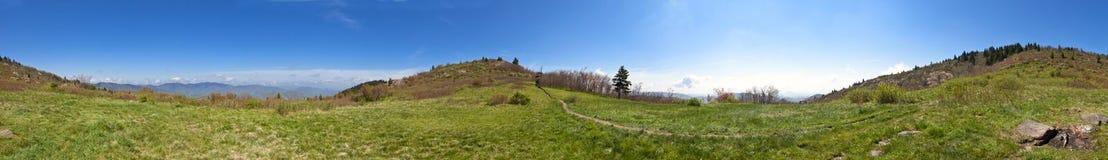 360 panorama of north carolina mountains Royalty Free Stock Images