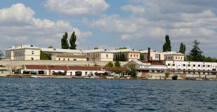 Panorama of the North side, Sevastopol Stock Image