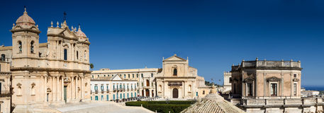 Panorama of Noto Royalty Free Stock Image