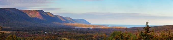 Panorama in Nova Scotia stock image