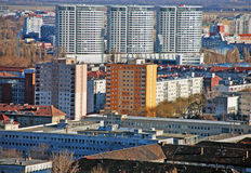Panorama novo de Bratislava Fotos de Stock