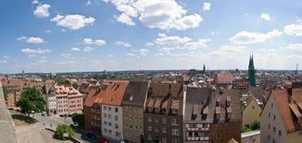 Panorama of Nuremberg Royalty Free Stock Images