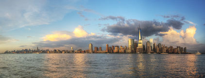 Panorama of NYC Royalty Free Stock Photo