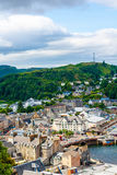Panorama of Oban, a resort town within the Argyll and Bute council area of Scotland. royalty free stock photo