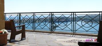 Panorama oBarrakka Gardens in Valletta, Malta Royalty Free Stock Photos