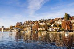 Panorama of Oberhofen Royalty Free Stock Photos