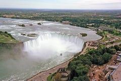 panorama objętych Niagara Zdjęcia Royalty Free