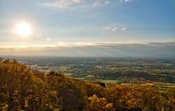 Panorama occidentale della campagna di Maryland Immagini Stock