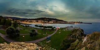 Panorama od Cotolino Obrazy Stock