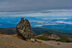 Panorama od góry Adatara Zdjęcie Stock