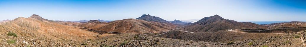 Panorama od Sicasumbre zdjęcia royalty free