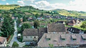 Panorama od Transylvania, Rumunia fotografia royalty free
