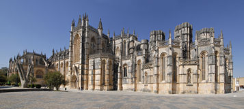 Free Panorama Of Batalha Gothic Monastery In Portugal. Royalty Free Stock Photos - 9012408