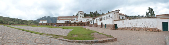 Free Panorama Of Chinchero, Sacred Valley Peru. Stock Photos - 65843073