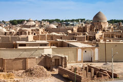 Panorama Of Desert Town Royalty Free Stock Photo