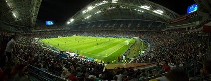 Free Panorama Of Football Stadium Stock Image - 140667851