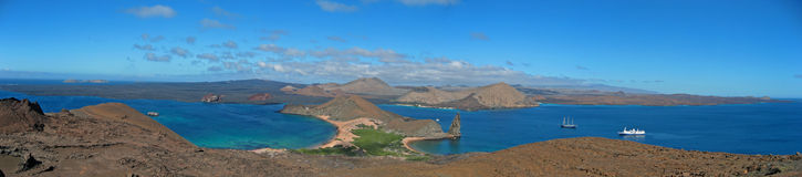 Panorama Of Galapagos Stock Photo