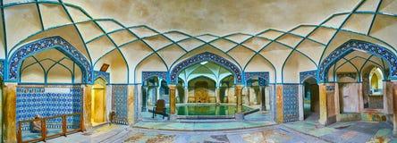 Free Panorama Of Ganjali Khan Bathhouse, Kerman, Iran Stock Images - 117899104