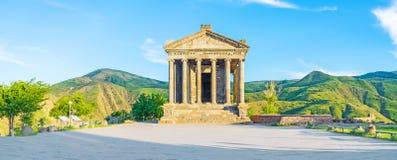 Free Panorama Of Garni Temple Royalty Free Stock Image - 78409376