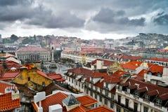 Panorama Of Lisbon Stock Image