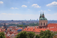 Free Panorama Of Mala Strana (Lesser Town) And St. Nicholas Church, Prague Royalty Free Stock Photos - 59780688