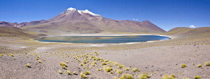 Panorama Of Miniques Moutain & Lagoon 2 Royalty Free Stock Photo