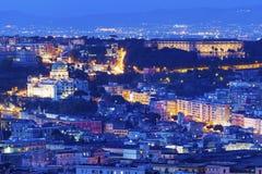 Free Panorama Of Naples At Night Royalty Free Stock Photos - 98750938