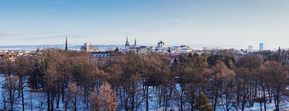 Panorama Of Olomouc Stock Image