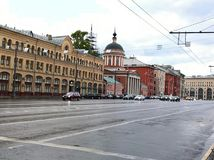 Free Panorama Of One Of The Streets Of Moscow Russia Stock Image - 79243311