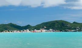 Free Panorama Of Philipsburg Sint Maarten Royalty Free Stock Photo - 27658475