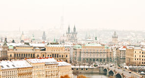 Free Panorama Of Prague Royalty Free Stock Image - 29556786