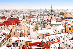 Free Panorama Of Prague Stock Image - 29852651