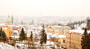 Free Panorama Of Prague Stock Photo - 29852820