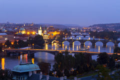 Free Panorama Of Prague Royalty Free Stock Photos - 45517418