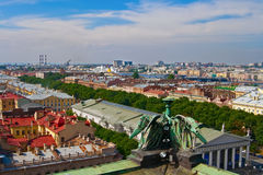 Panorama Of Saint-Petersburg Royalty Free Stock Photos