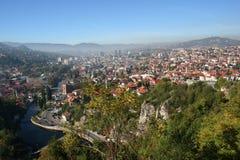 Panorama Of Sarajevo Stock Photo