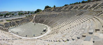Free Panorama Of The Ancient Theatre In Bodrum Royalty Free Stock Image - 67520396