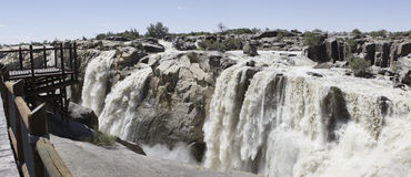 Free Panorama Of The Augrabies Waterfall Royalty Free Stock Images - 12935389