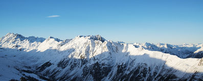 Free Panorama Of The Austrian Ski Resort Of Ischgl. Royalty Free Stock Image - 85042896