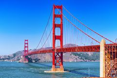 Free Panorama Of The Gold Gate Bridge And The Other Side Of The Bay. San Francisco Royalty Free Stock Photography - 140447417